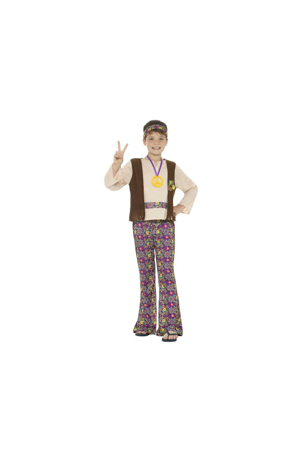 Dětský hippie kostým