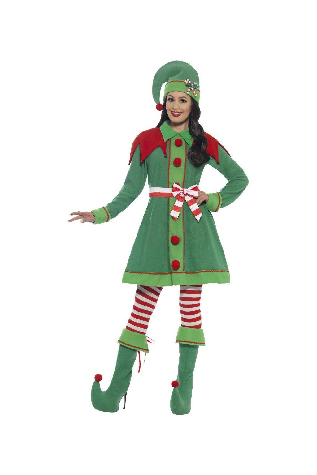 Elfka - deluxe - dámský kostým