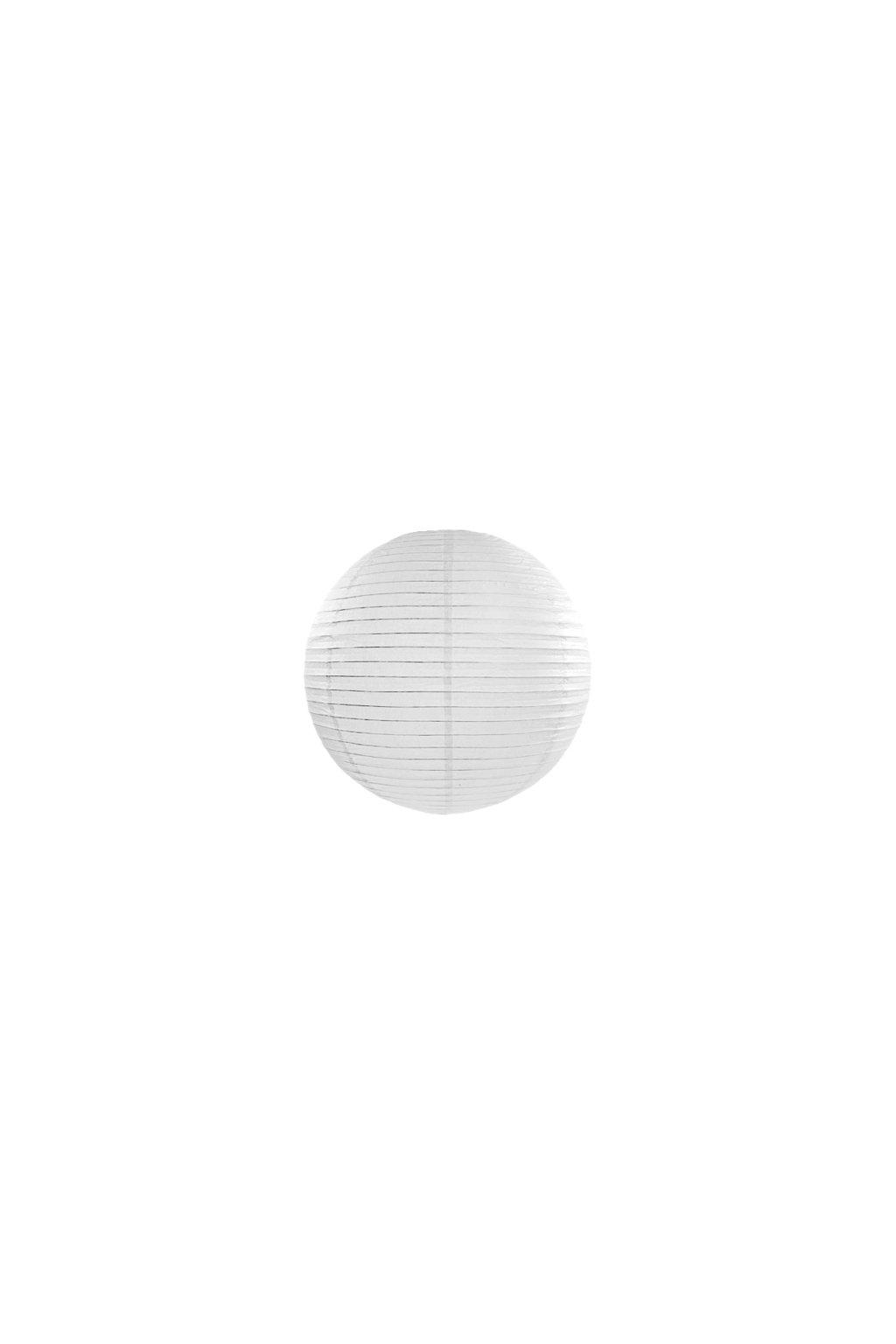 Lampión kulatý - bílý
