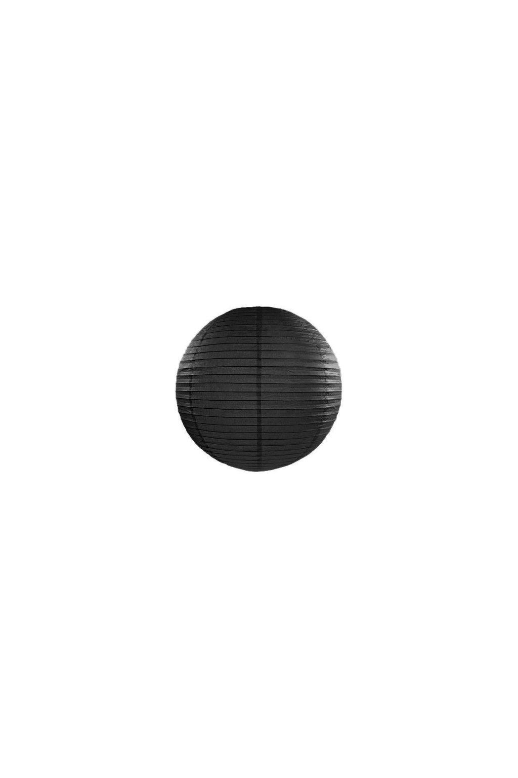 Lampión kulatý - černý