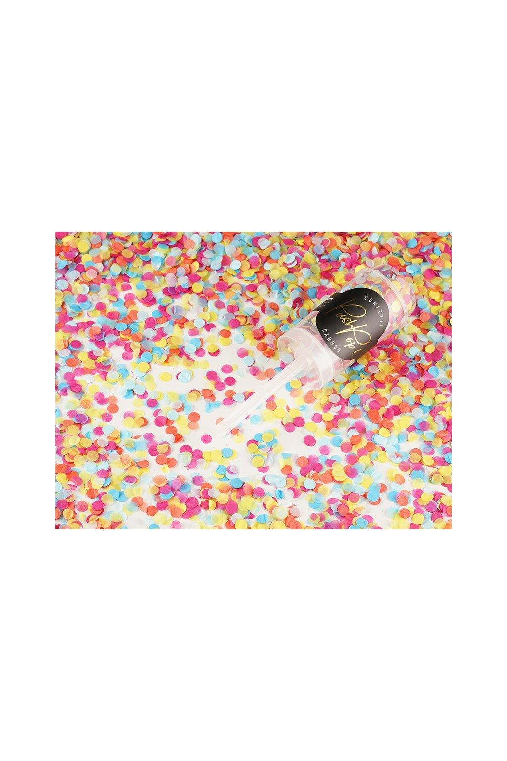 Vystřelovací konfety POP - mix