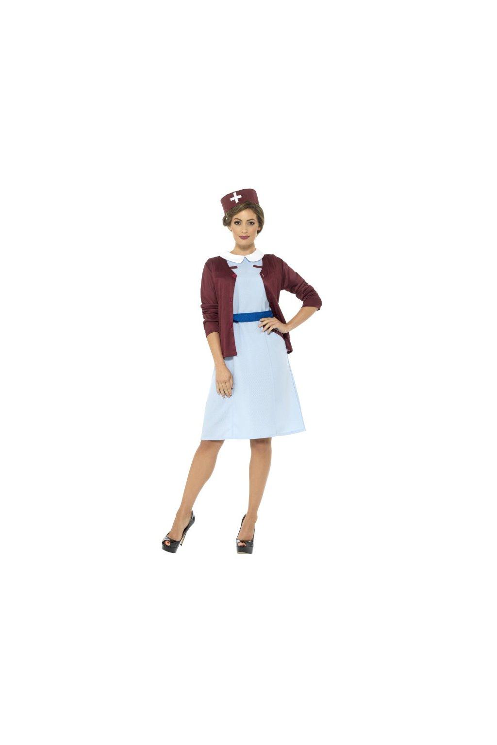 Kostým zdravotní sestry z roku 1950