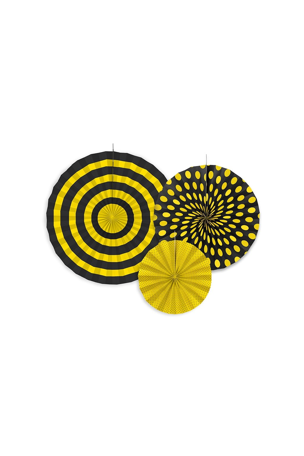 Rozety závěsná dekorace 3ks - včelka