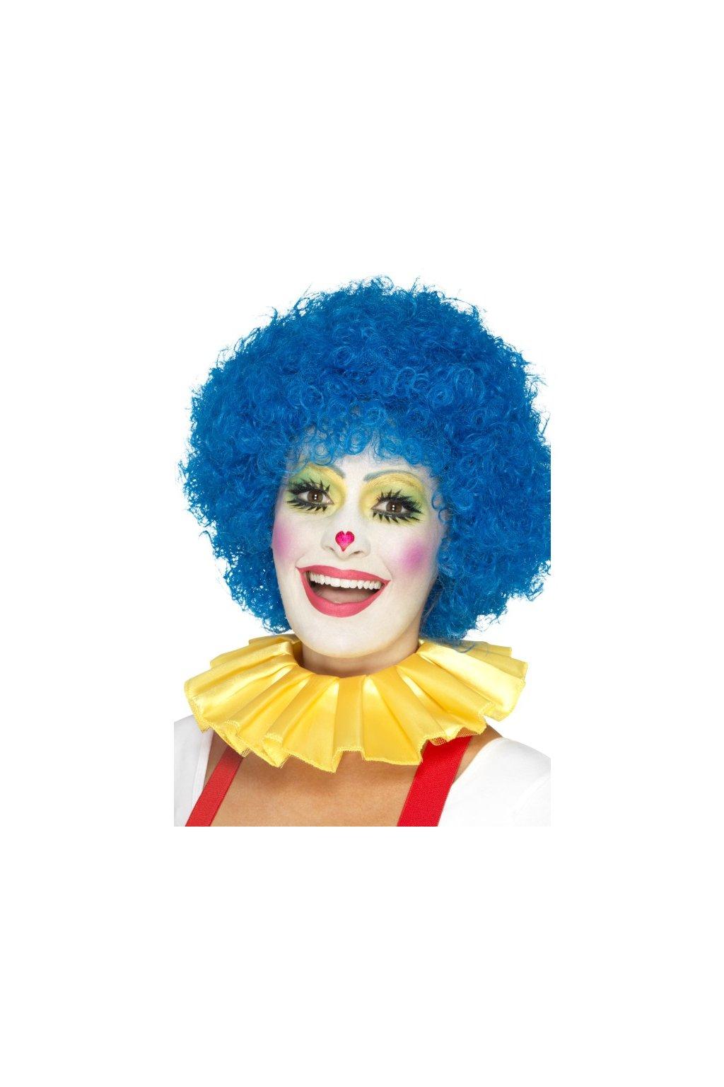 Kolárový límec pro klauna žlutý