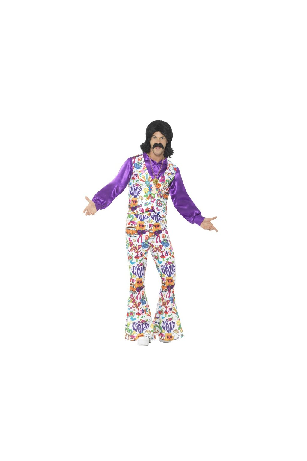 Hippie kostým - groovy 60´s