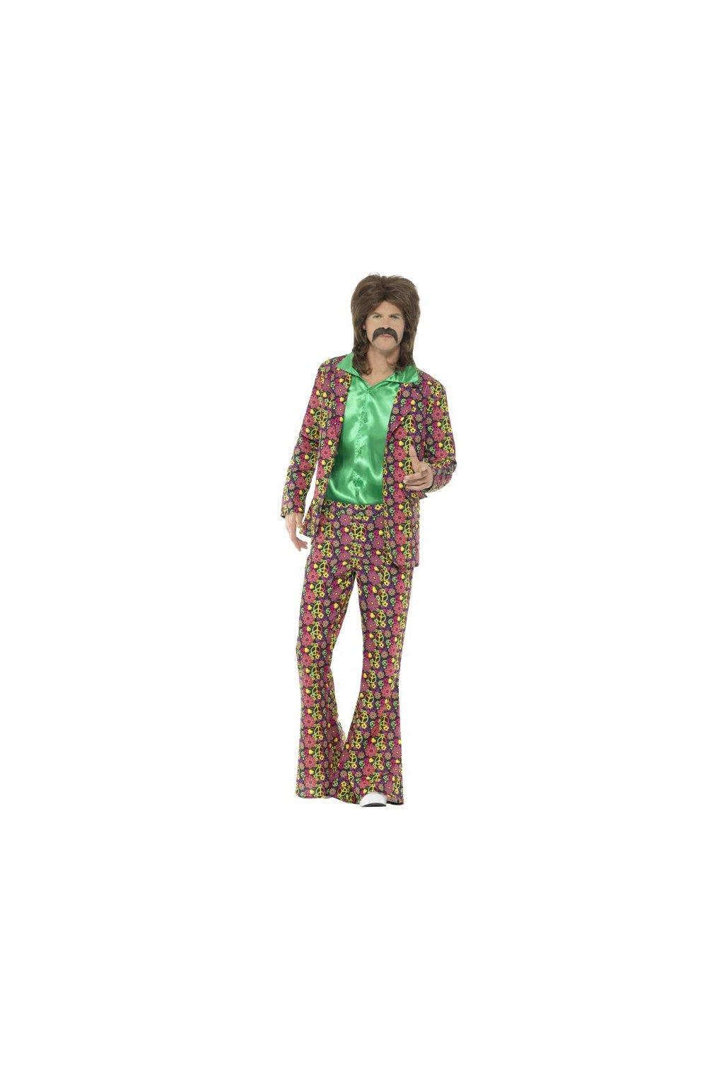 Pánský hippie oblek - psychedelic 60´s
