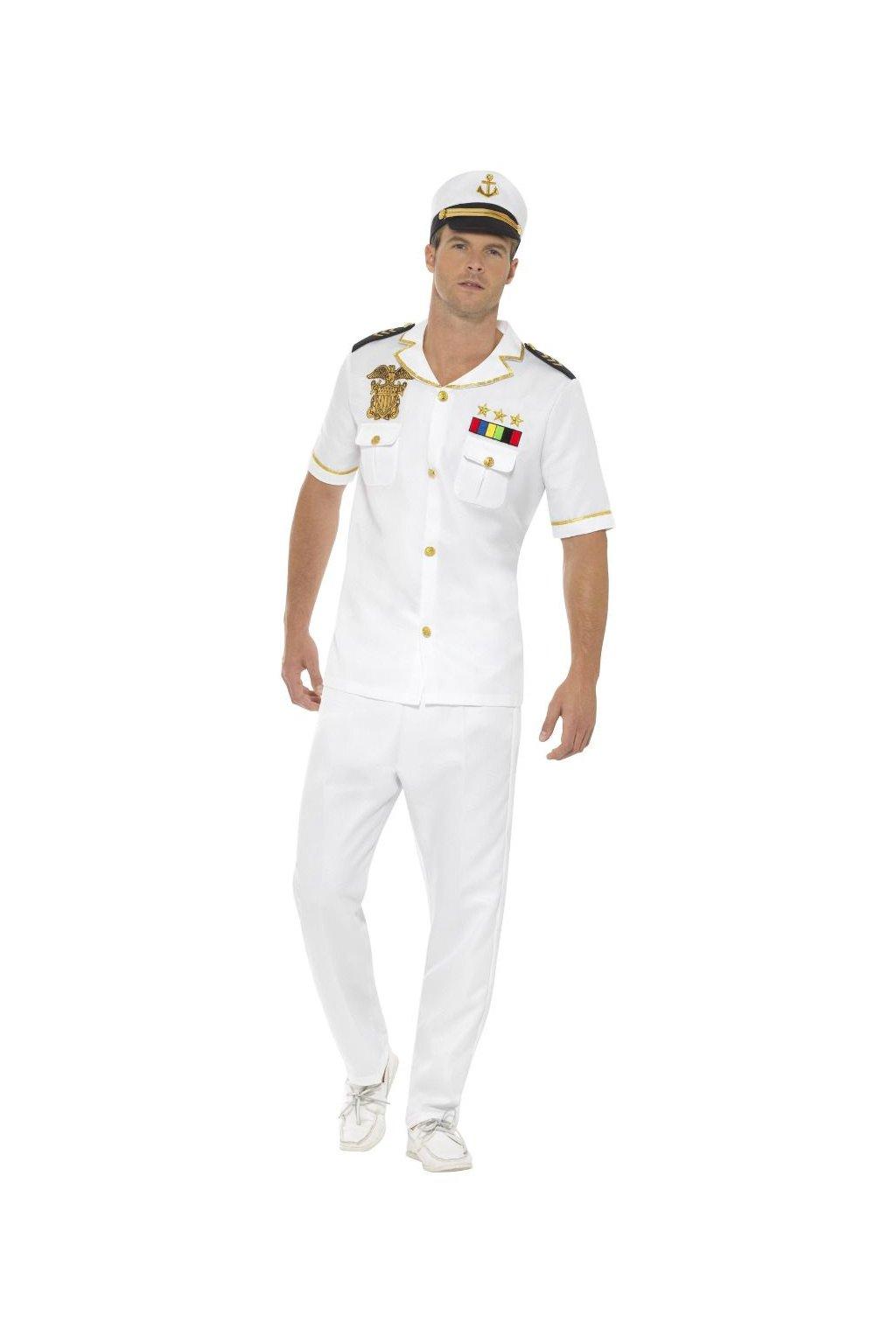 Kapitán - pánský kostým