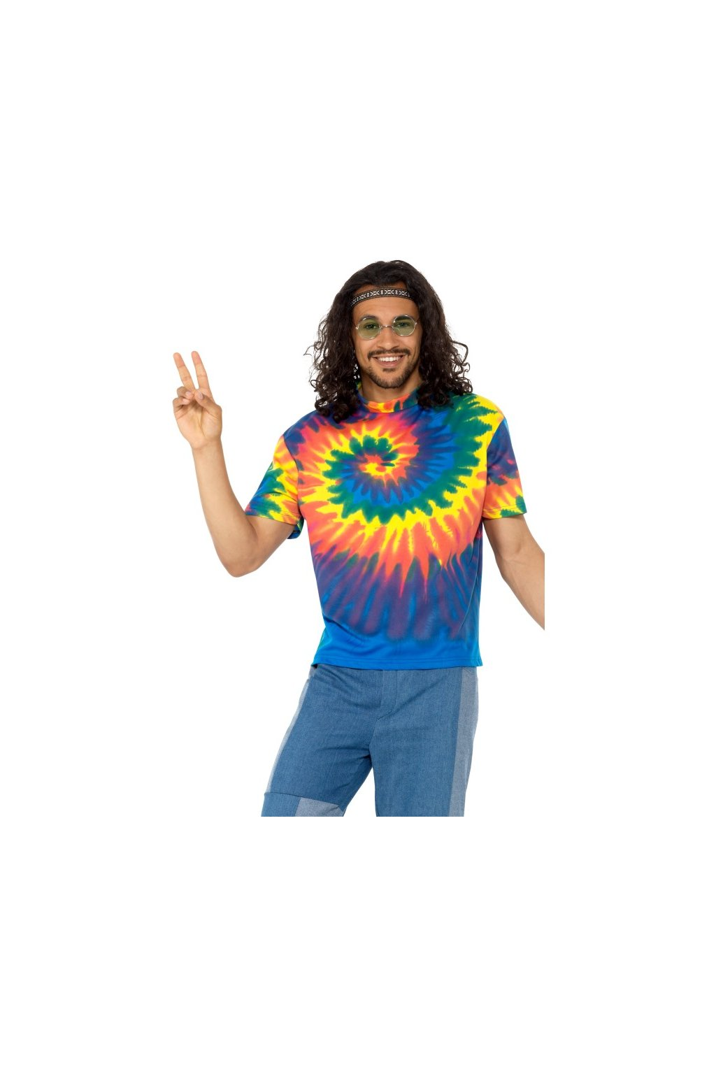 Batikované tričko DIY