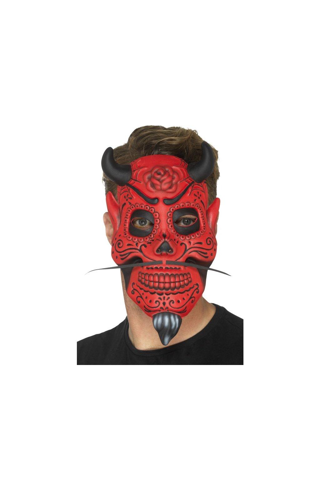 Mexická maska Devil