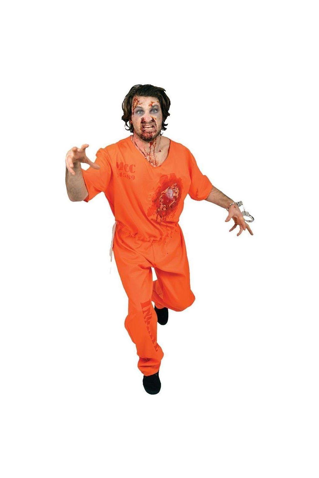 Bušící srdce vězně - digitální kostým