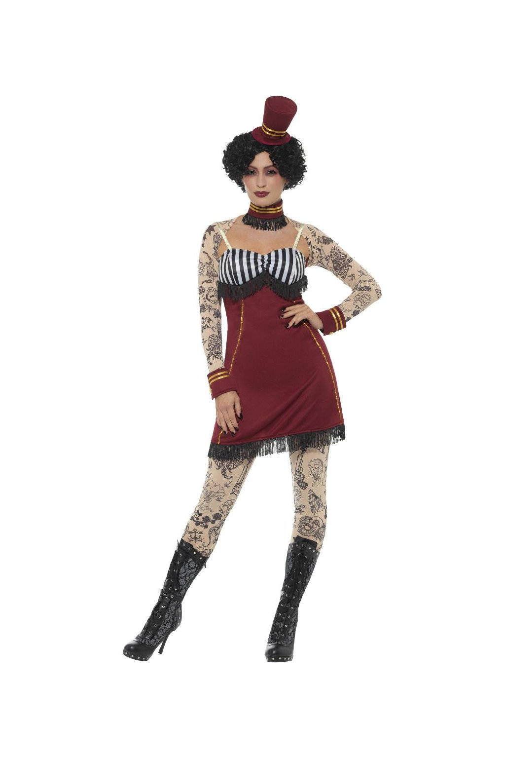 Deluxe Tattoo Lady - dámský kostým
