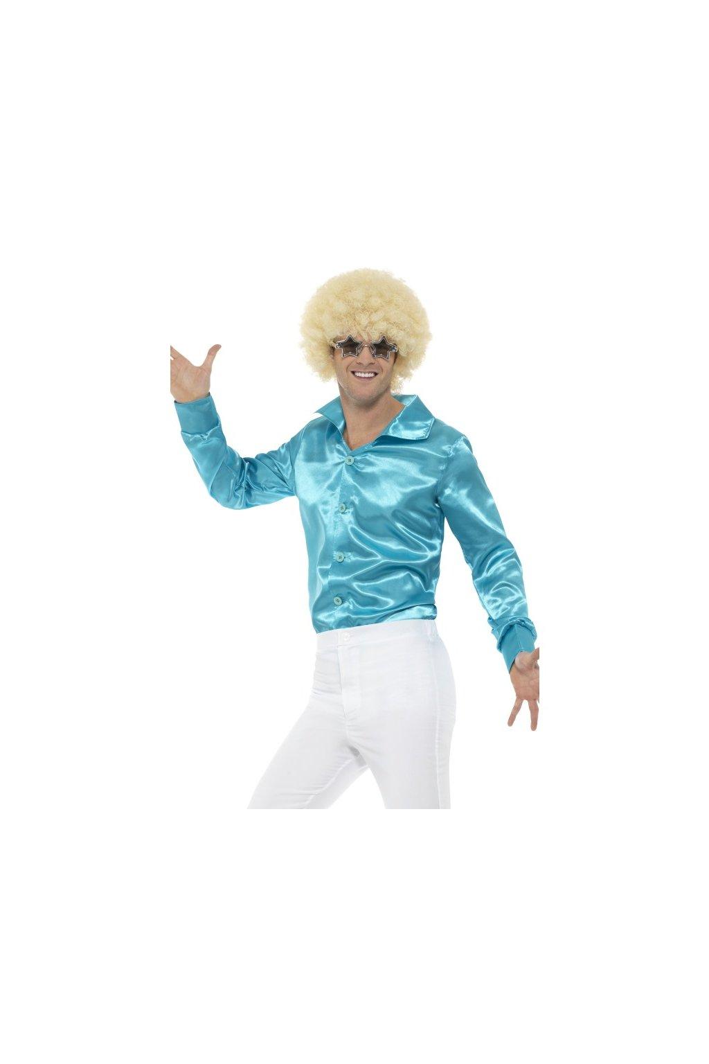 Disko košile baby blue
