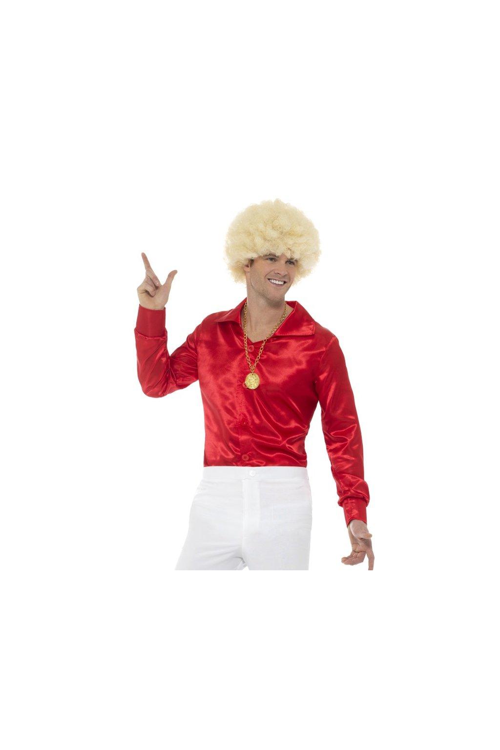 Košile 60tá léta červená