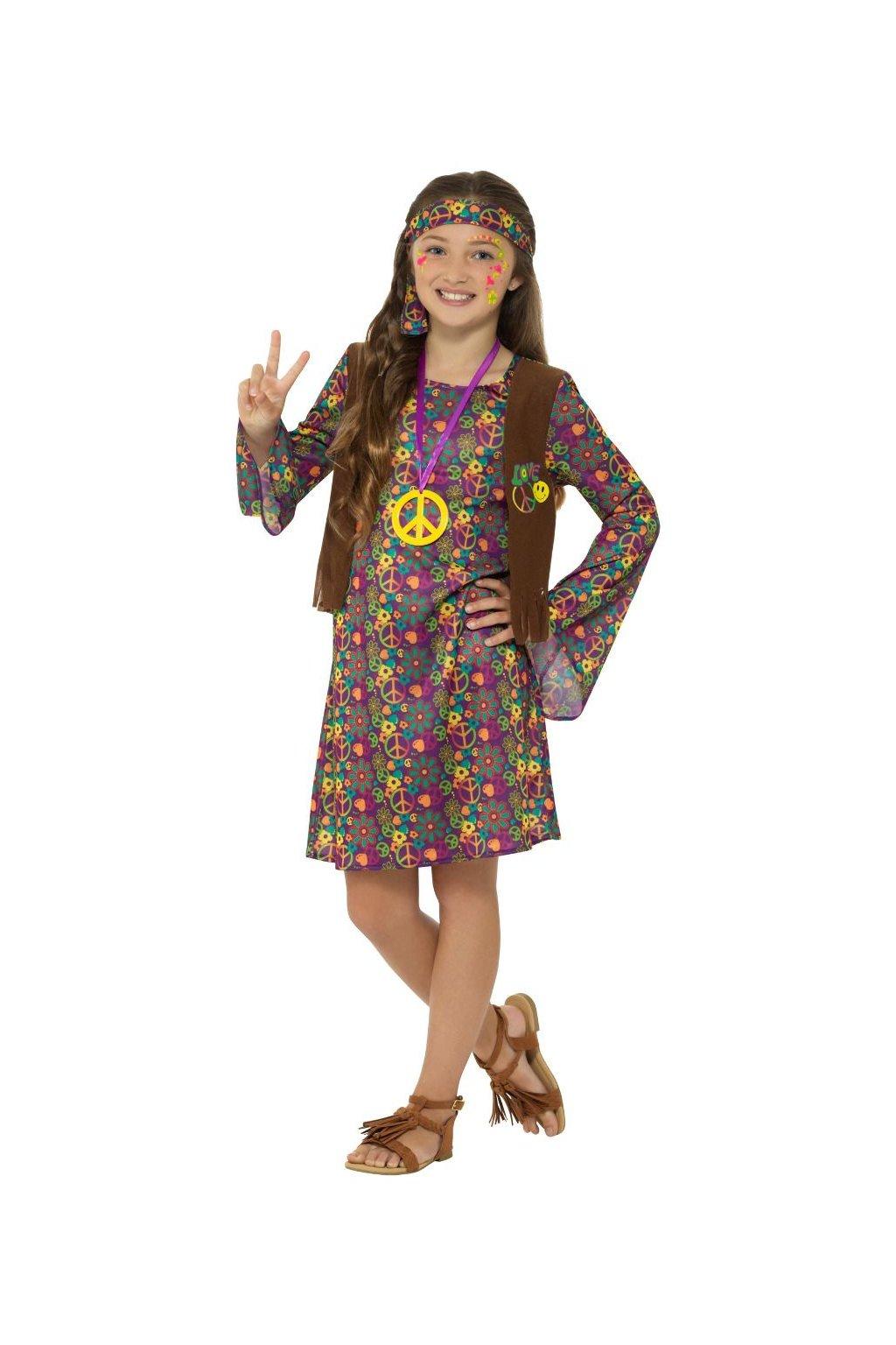 Dětský kostým - hippie
