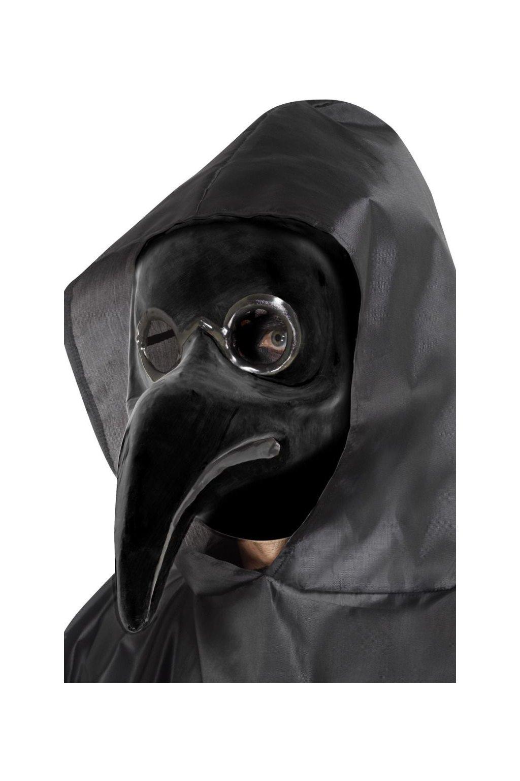 Černá maska - morový doktor