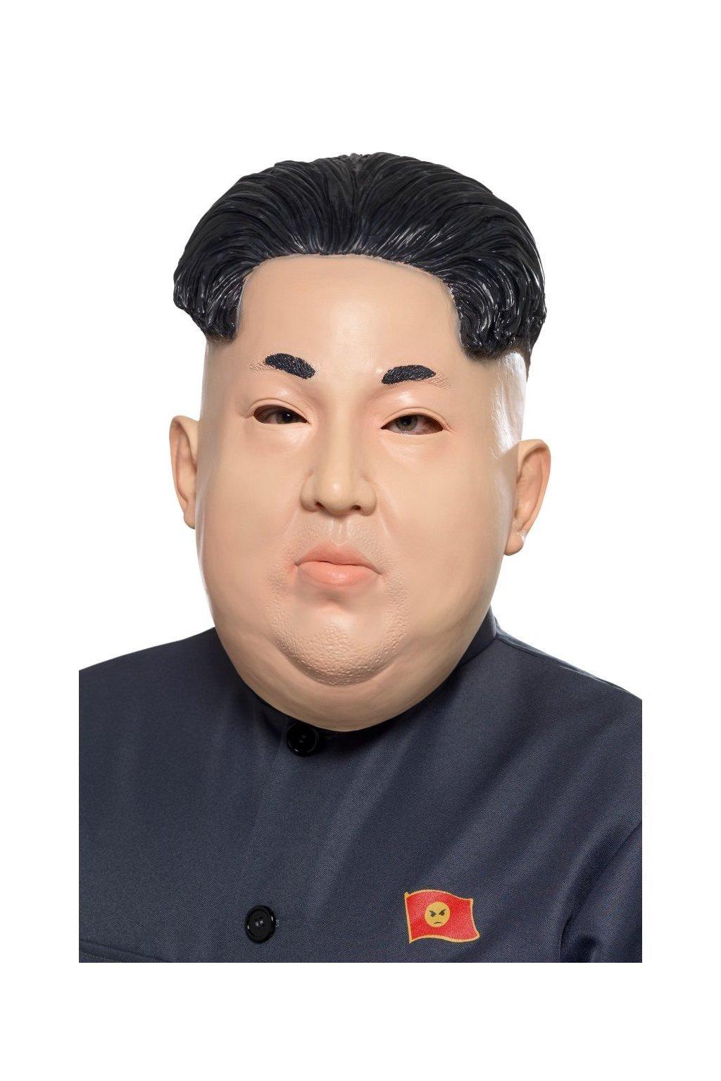 Maska Kim Čong Un