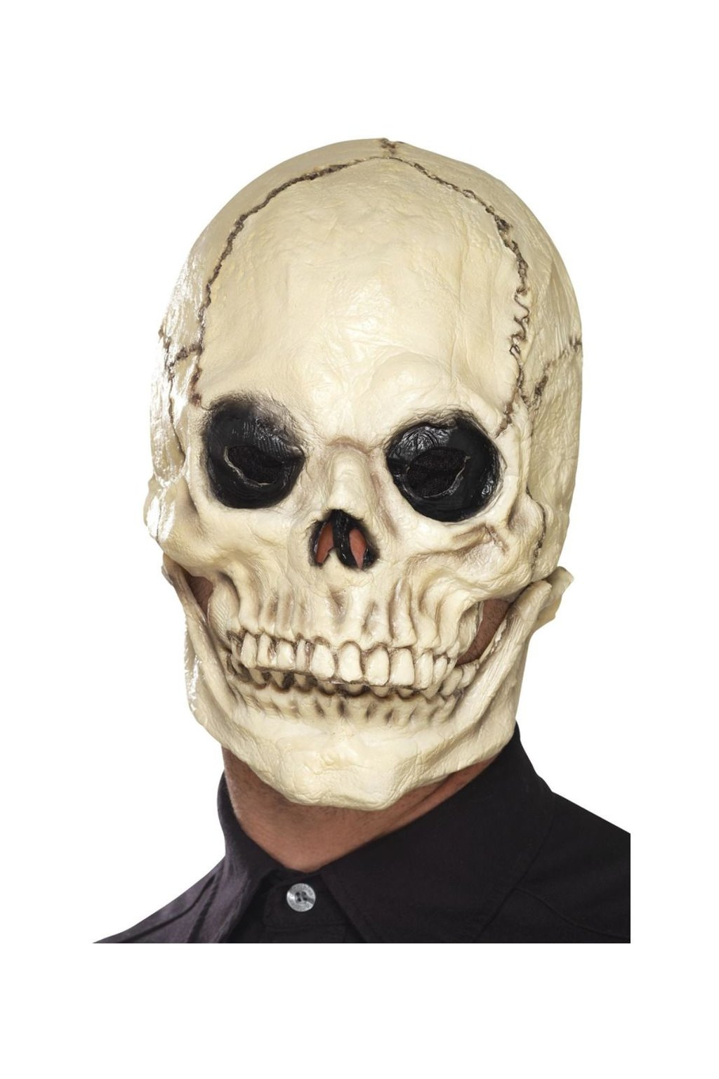 Kostlivec - latexová maska