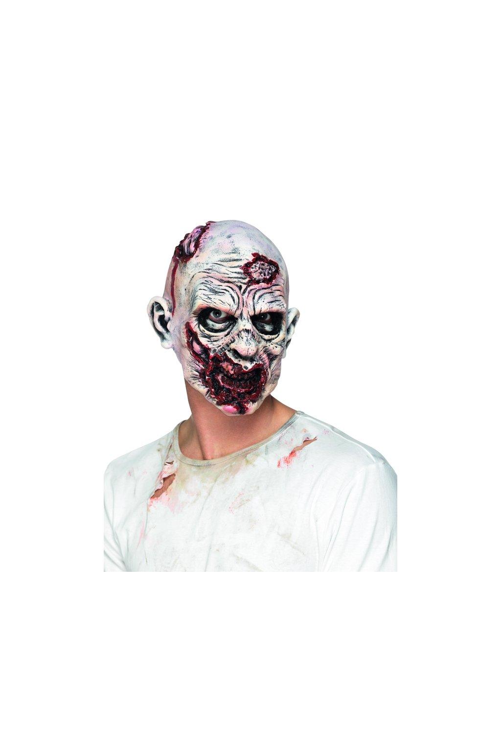Latexová maska - Zombie
