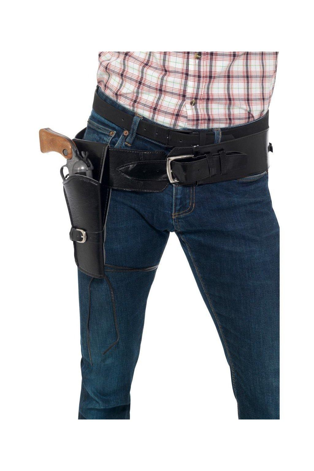 Opasek a pouzdro na pistol
