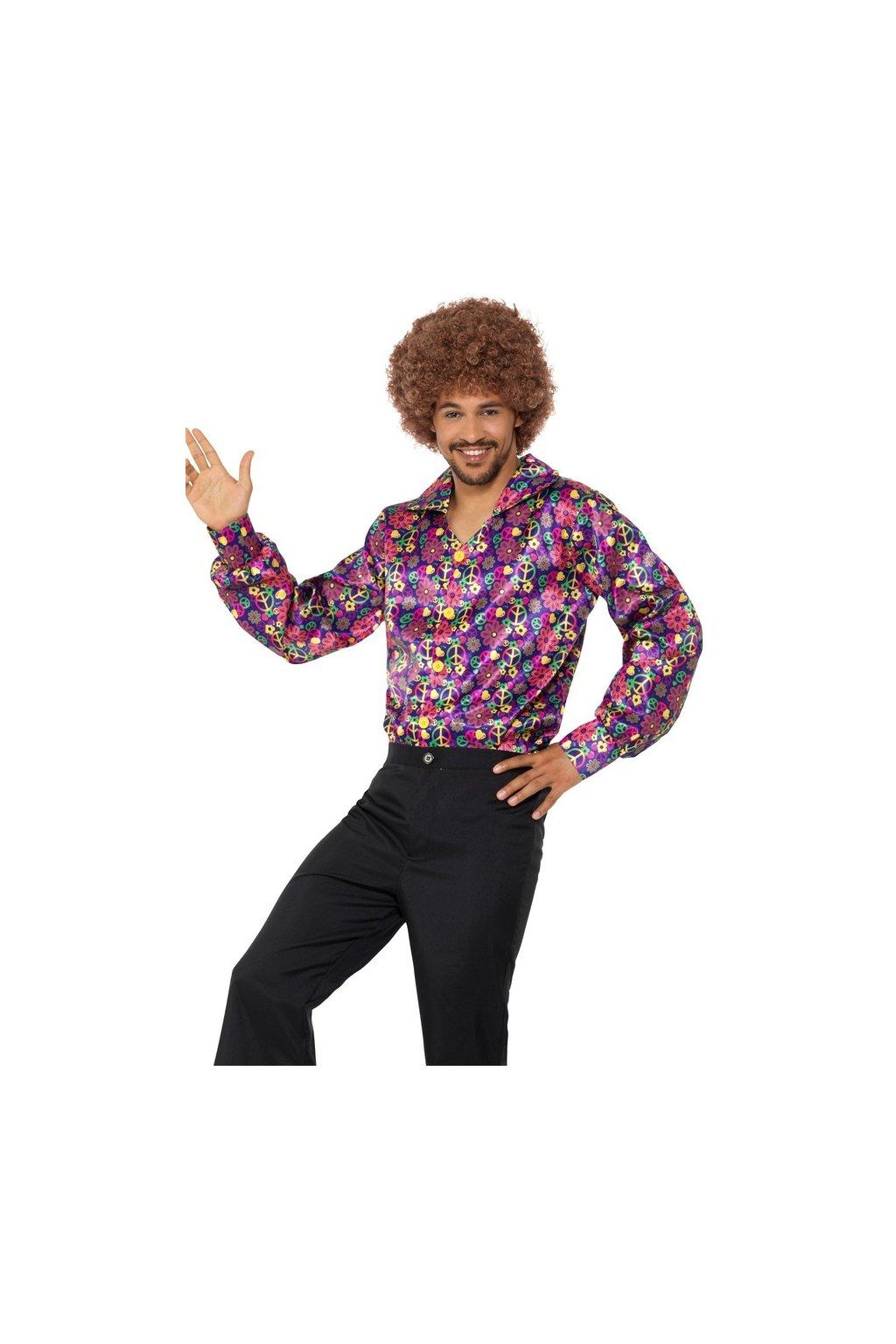 Pánská Hippie košile - Psychedelic