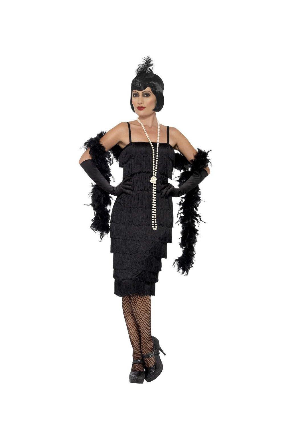 Flapper - dámský kostým na Charleston - 20.léta