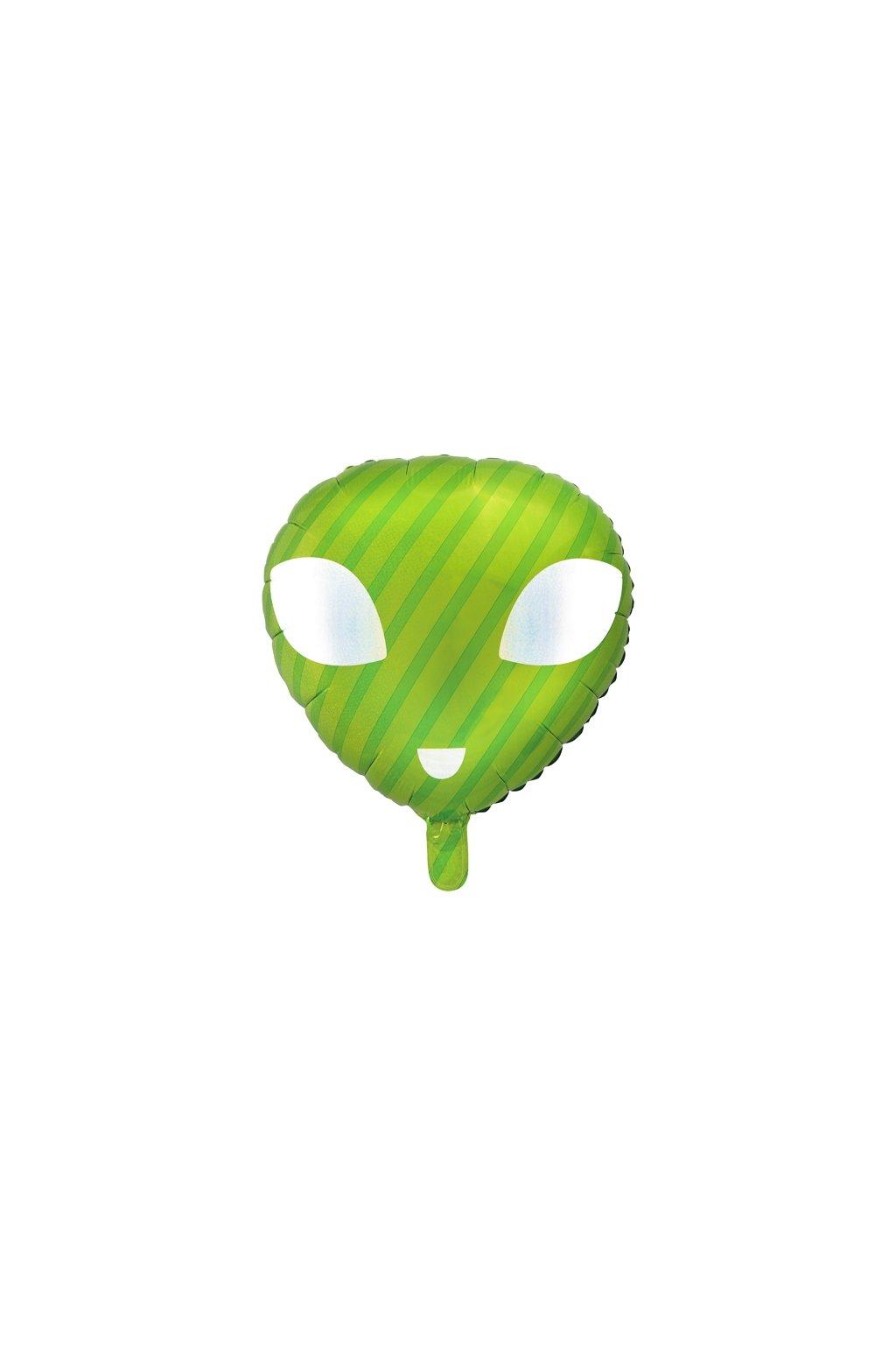 Mimozemšťan - foliový balónek