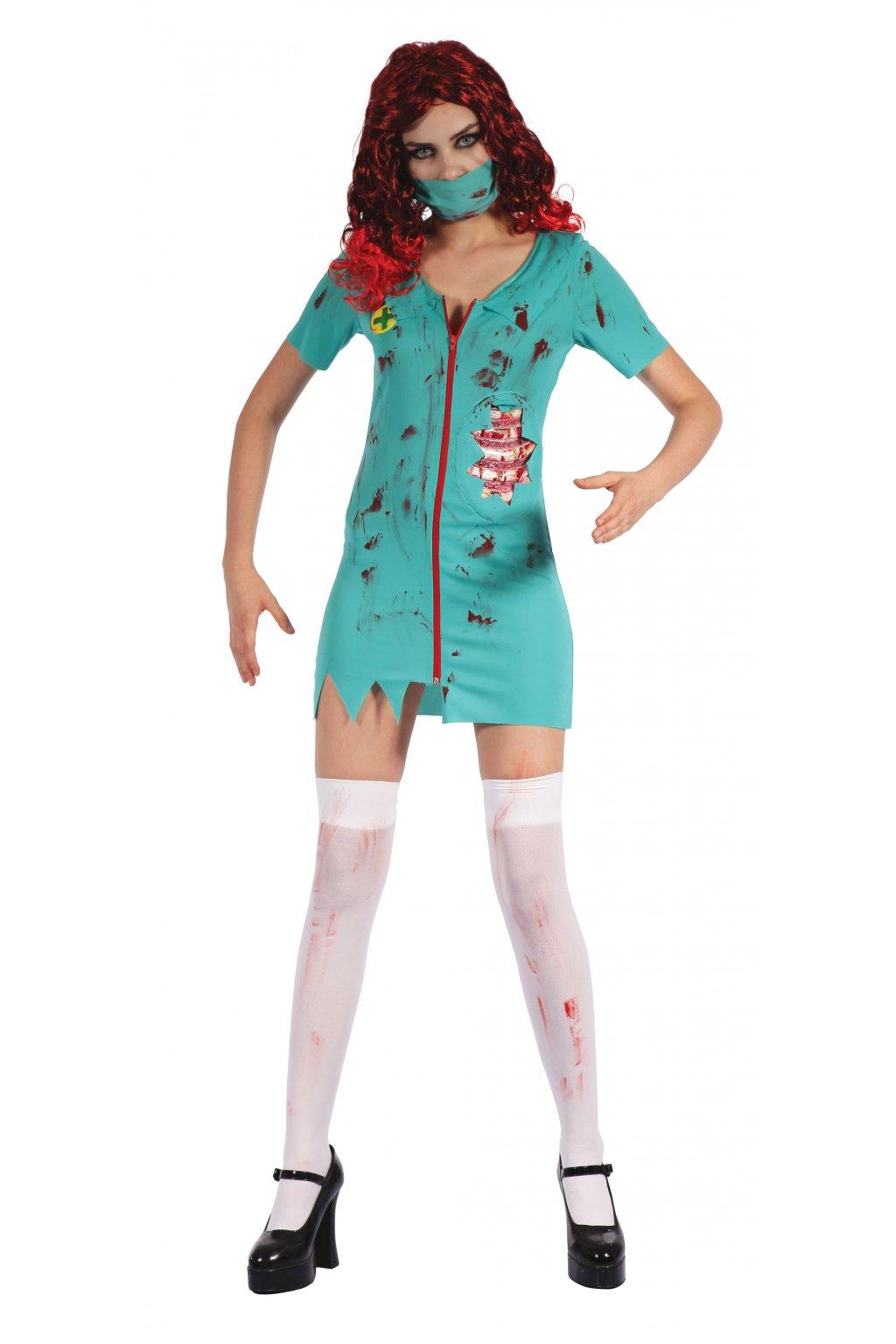 Zombie sestřička - dámský kostým