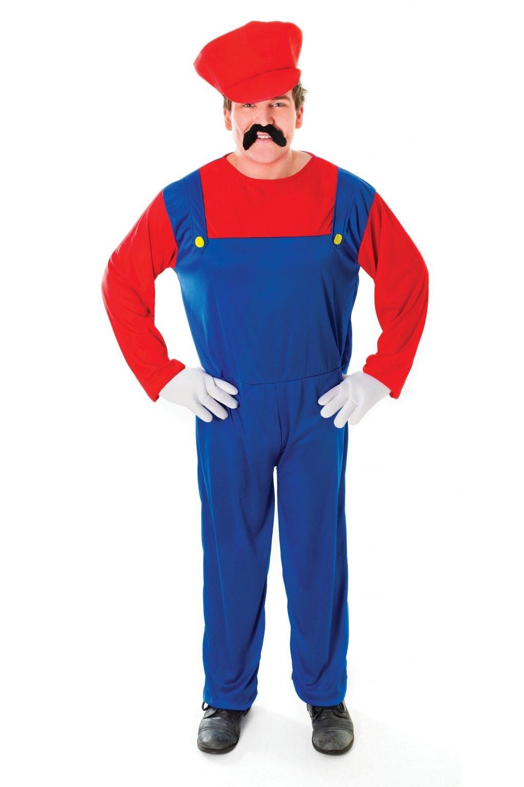 Kostým instalatér - Super Mario