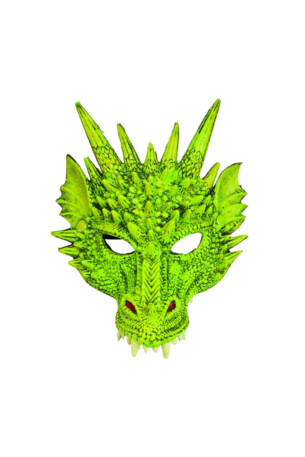 Maska draka - zelená
