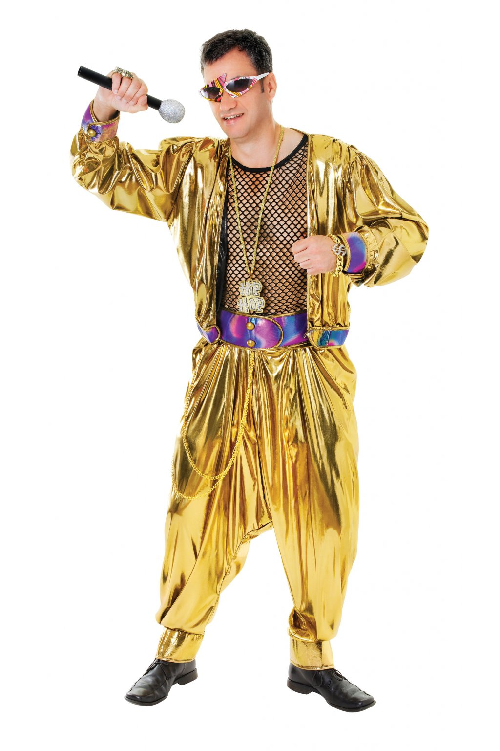 Rapper Superstar - pánský kostým 80. léta