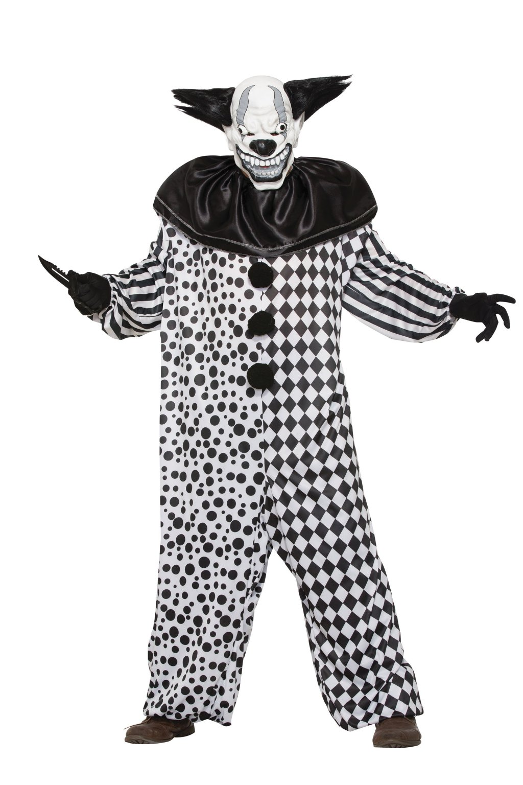 Šílený klaun - kostým Halloween