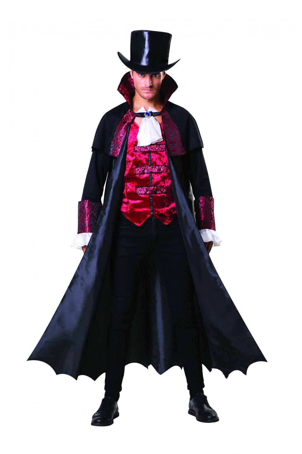 Hrabě Upír - pánský kostým upíra