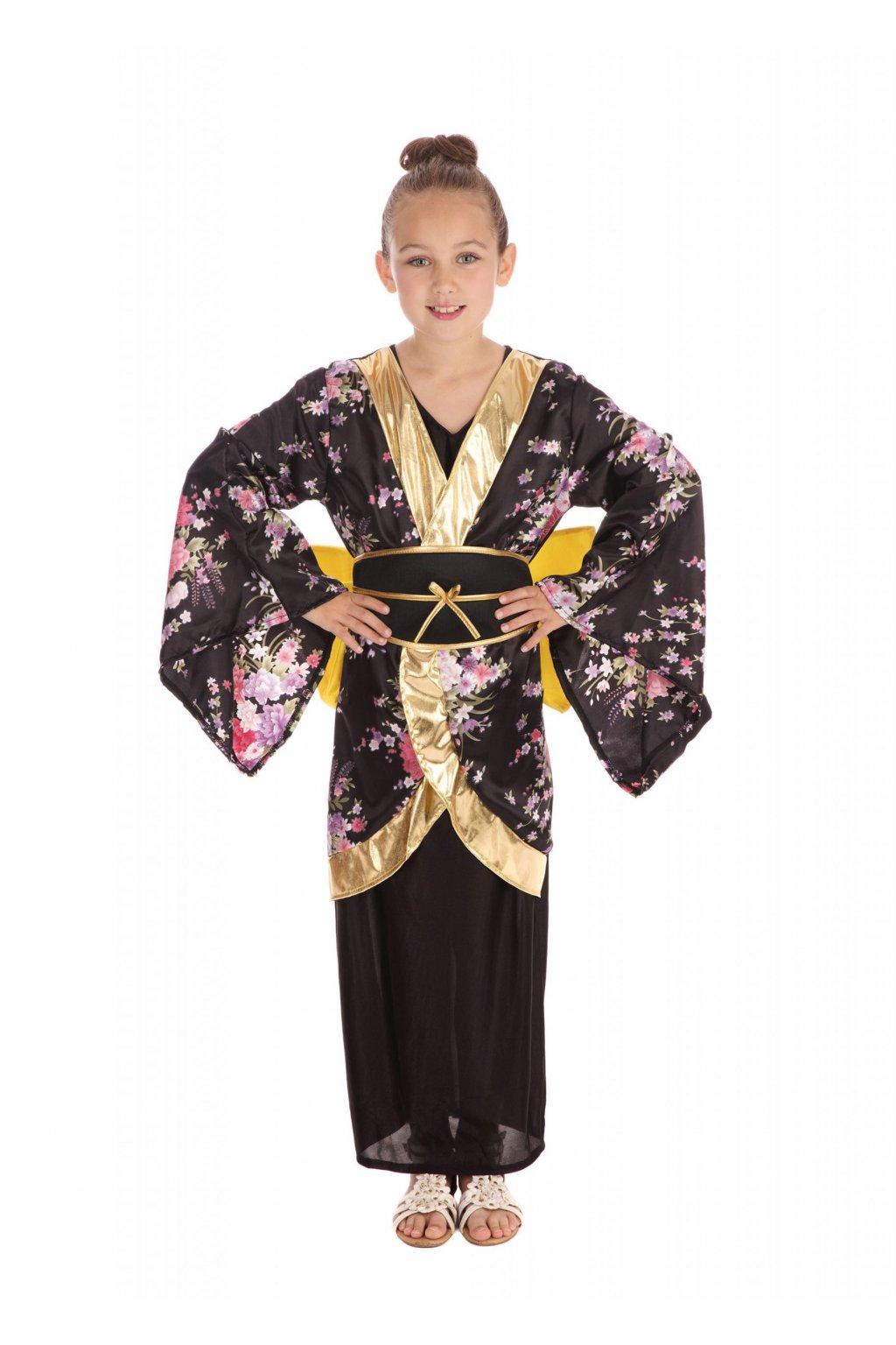 Dětský kostým - Geisha Japonka