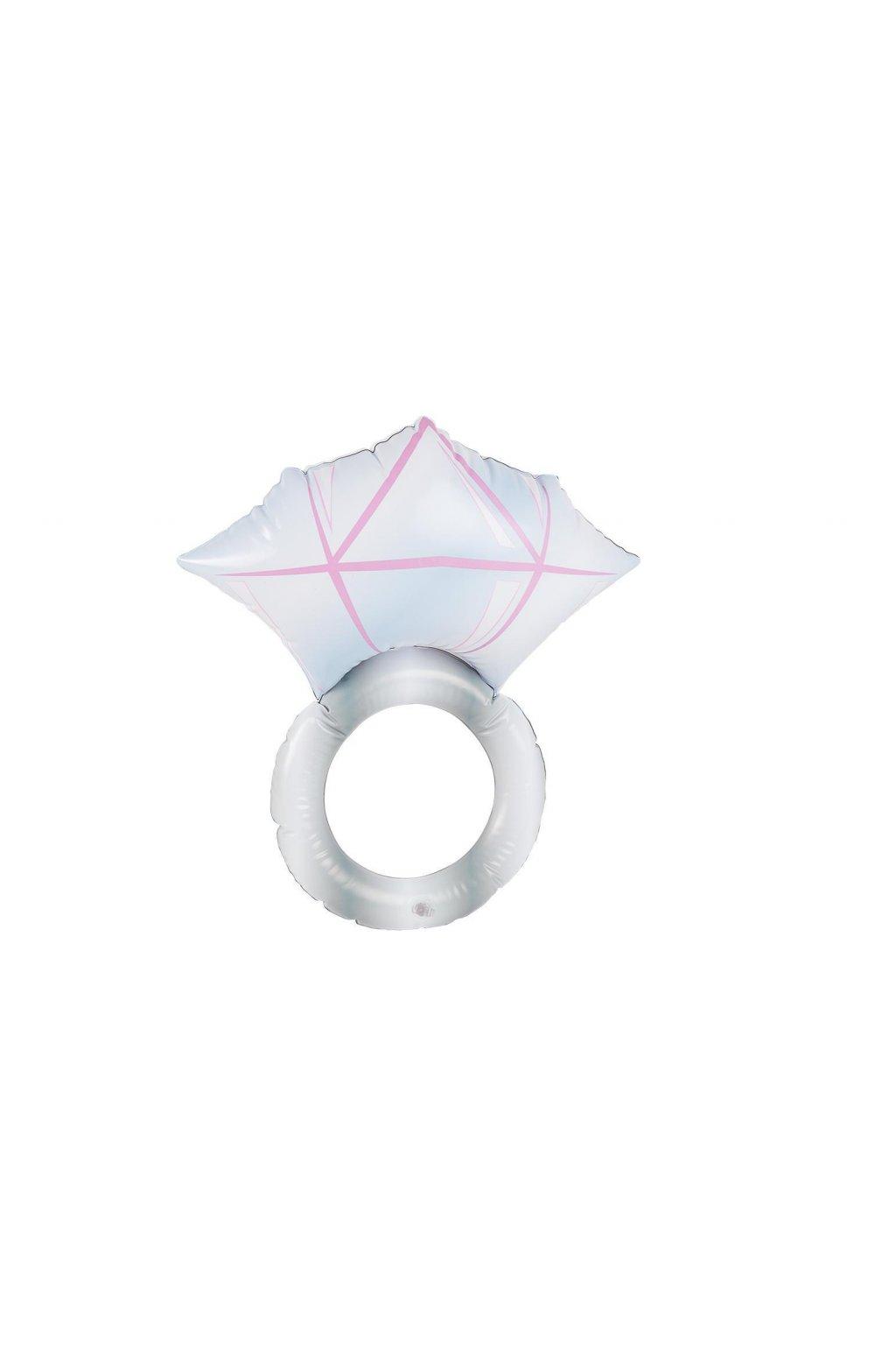 Diamantový prsten - nafukovací