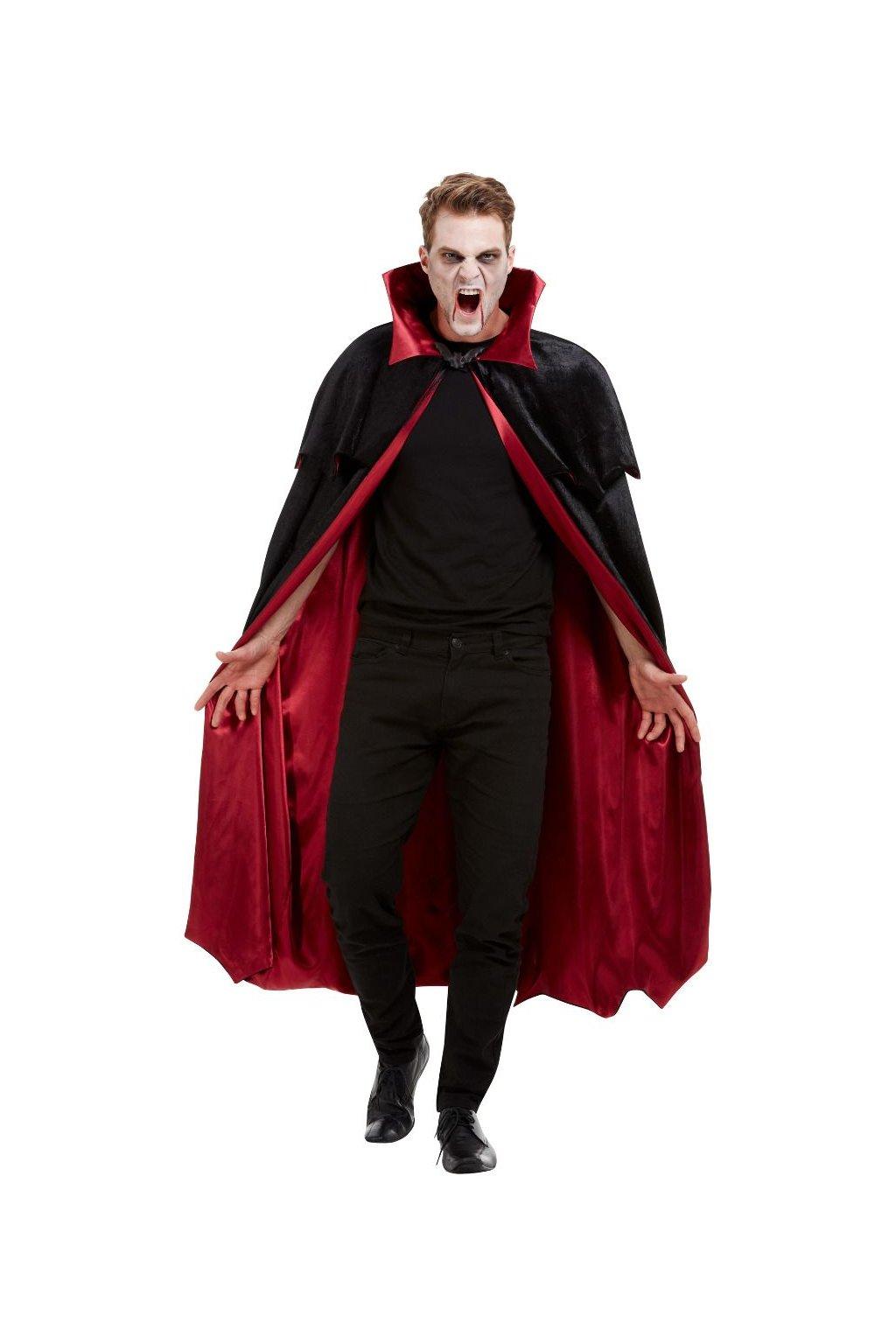 Kostým upíra - plášt pro upíra deluxe