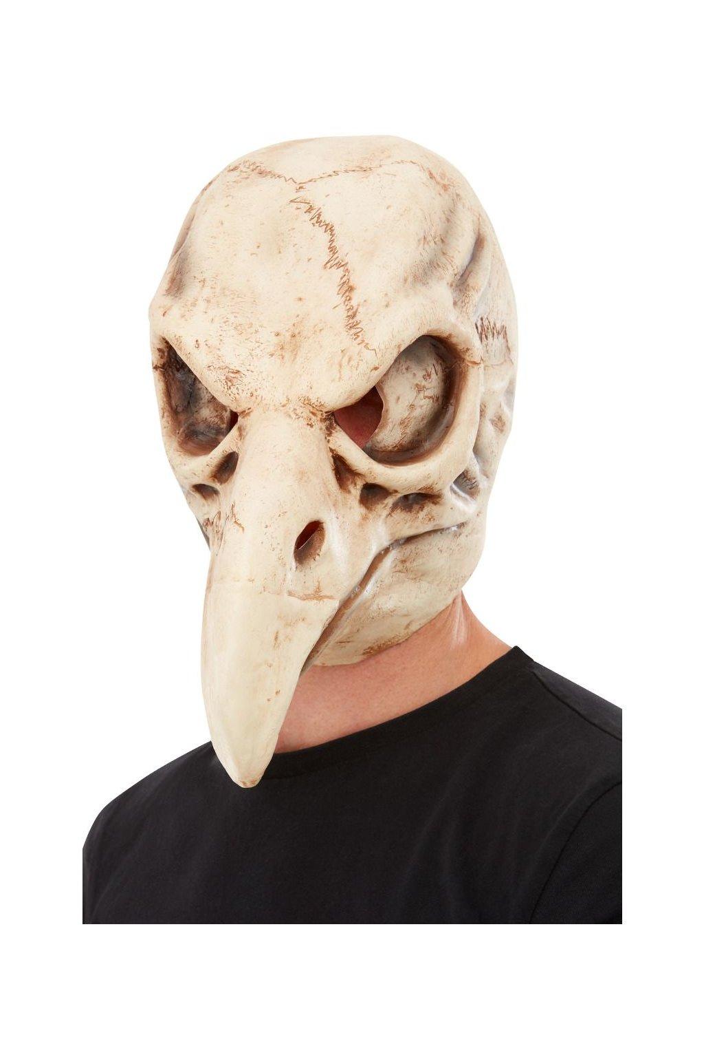 Ptačí lebka - latexová maska