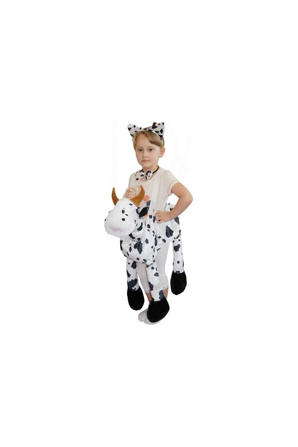 cow with braces