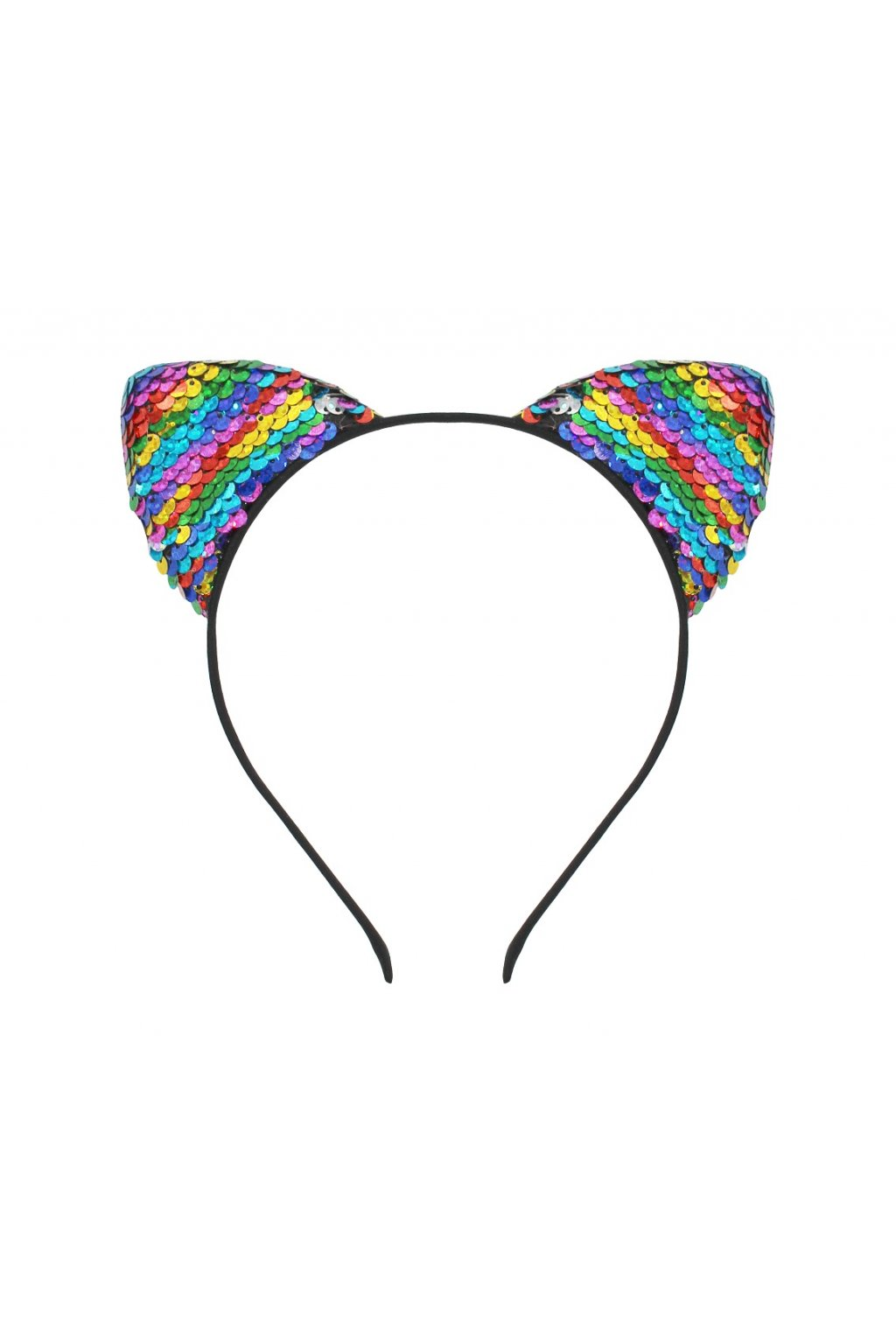 headband cat with sequins multicolour