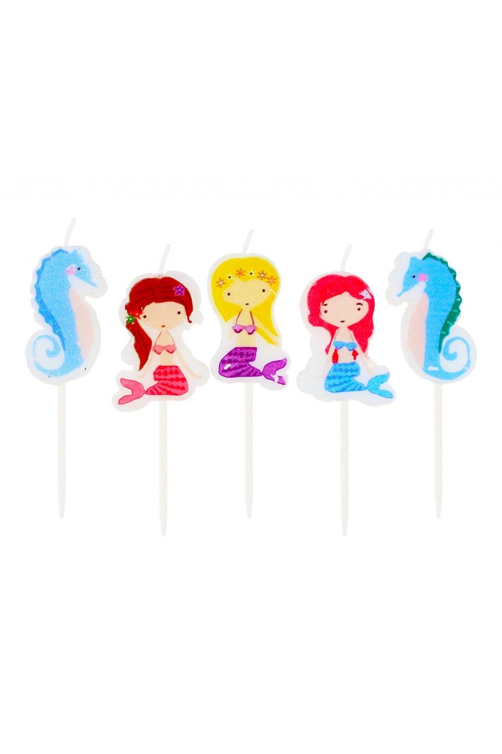 picks candles mermaid