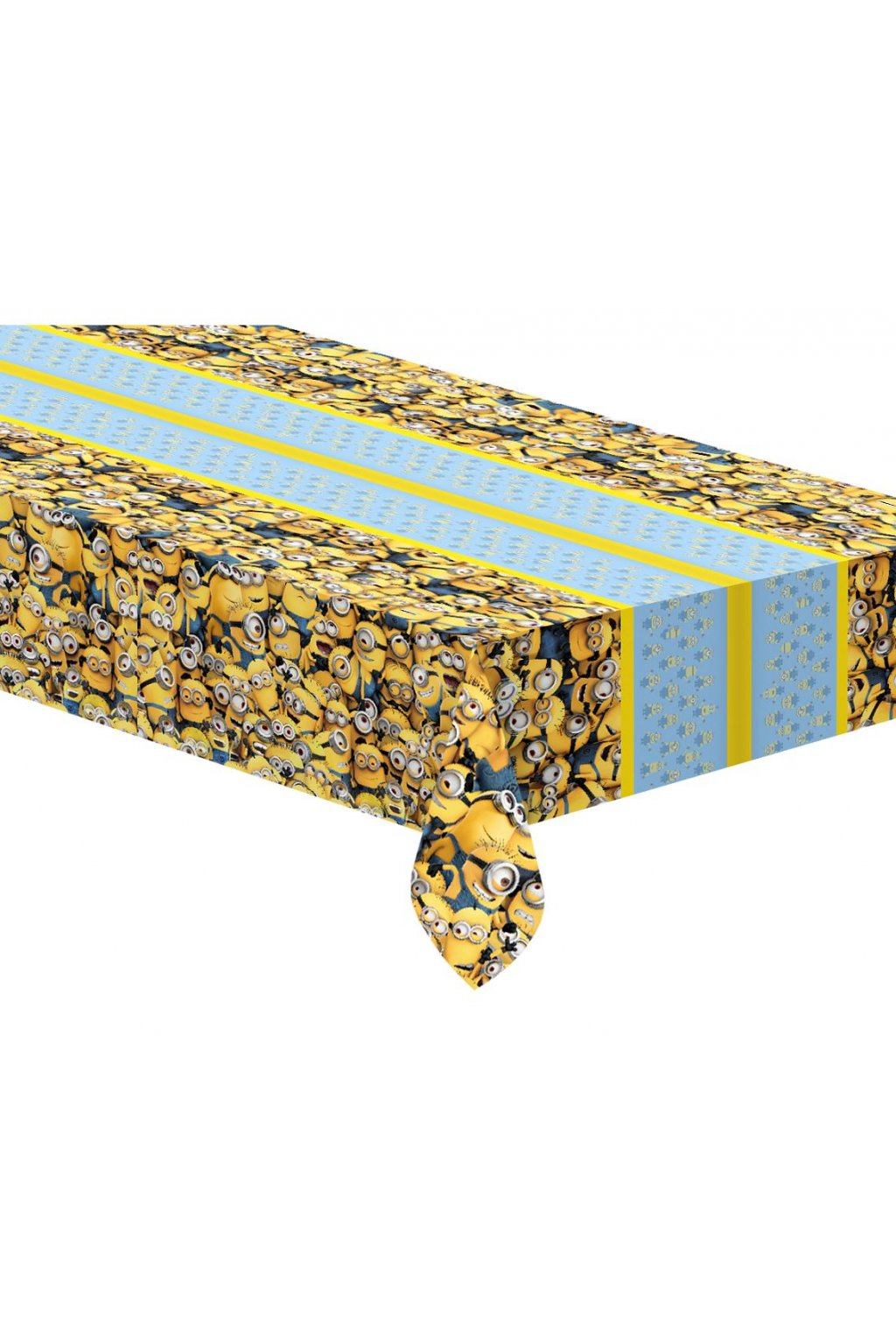 plastic tablecloth lovely minions 120x180 cm