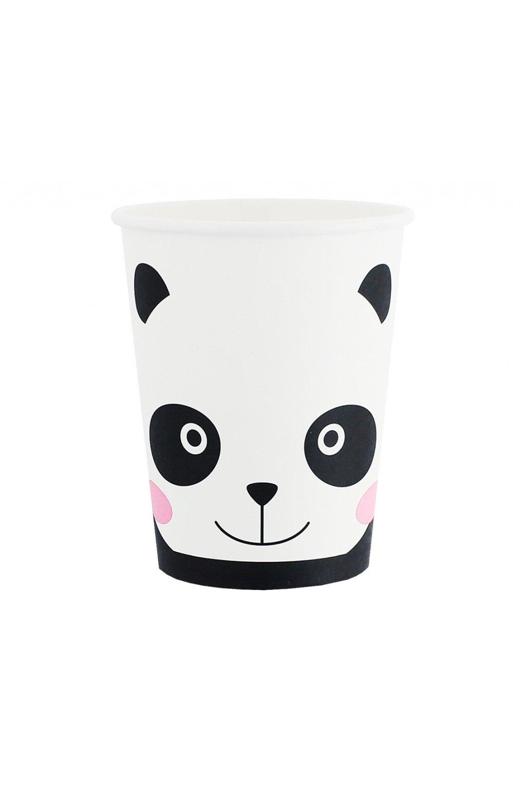 paper cups panda 6 pcs