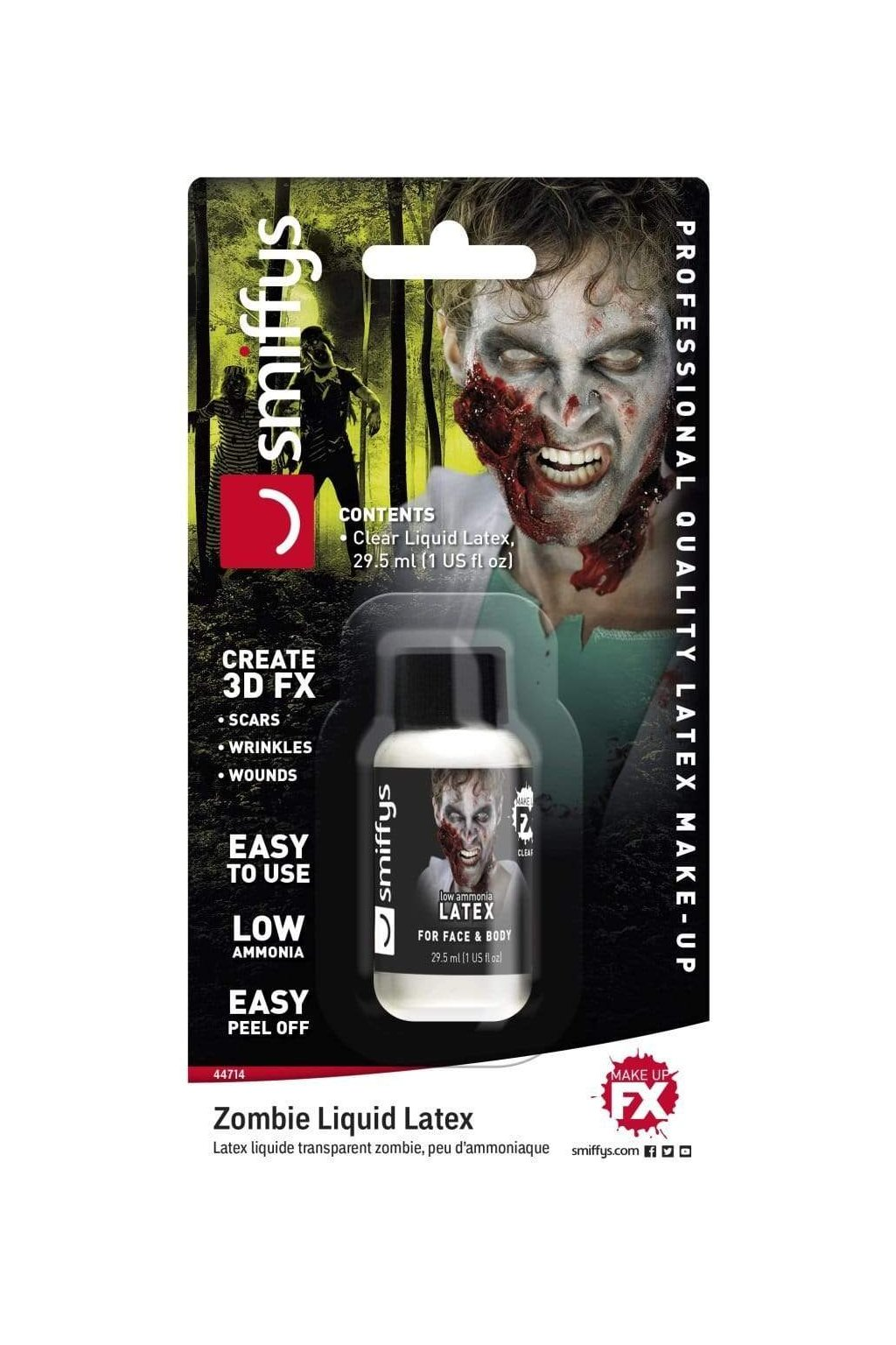 zombie liquid latex low ammonia 29 57ml 1 us fl oz alternative view8 2000x