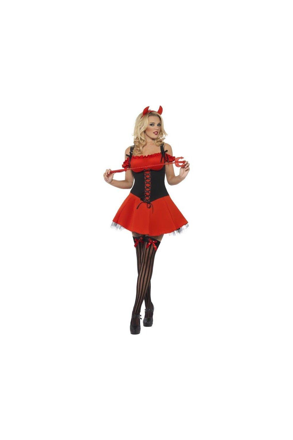 Kostým - Sexy čertice výprodej