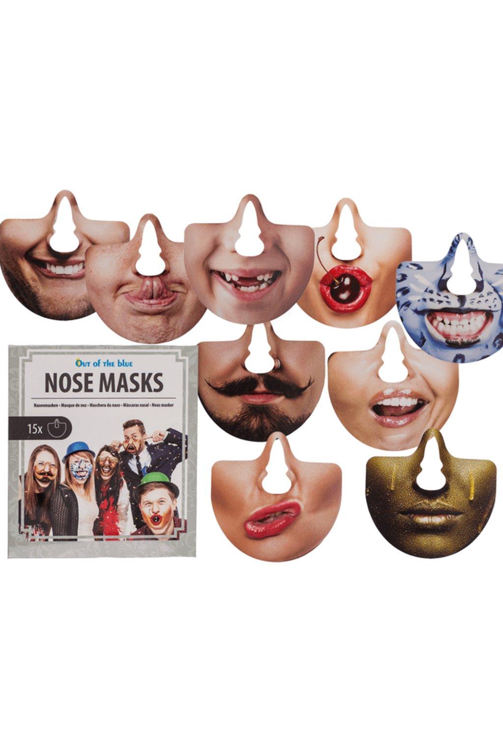 party photo accessoires nose masks 49098
