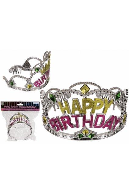 Narozeninová korunka - Tiara Happy Birthday