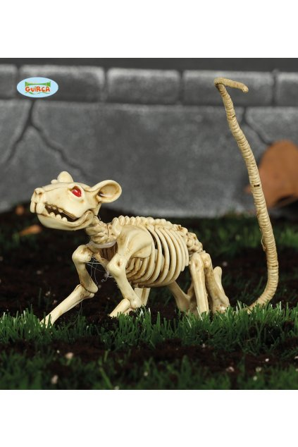 Kostra krysy 20cm - dekorace Halloween