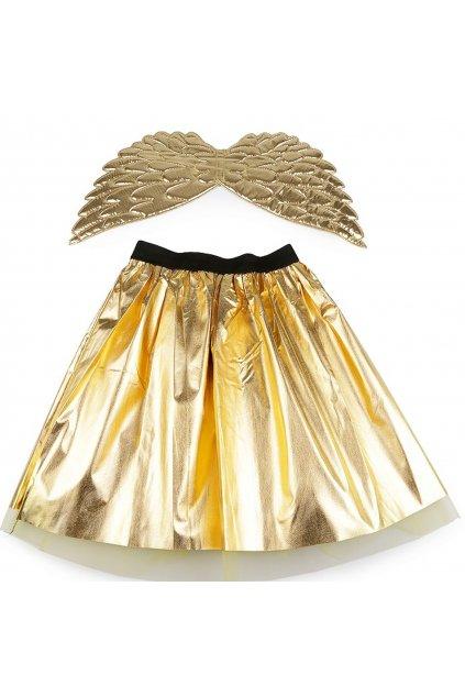 Zlatý anděl - dětský kostým