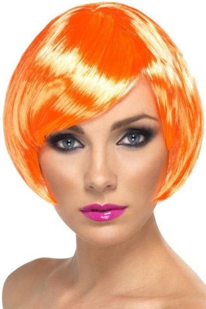 Paruka Babe oranžová