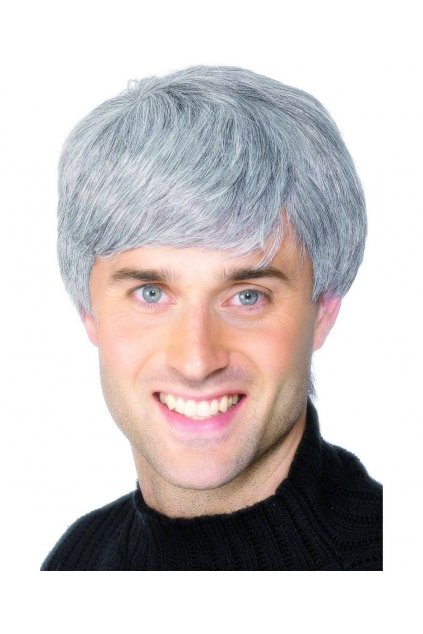 Paruka šedivé vlasy