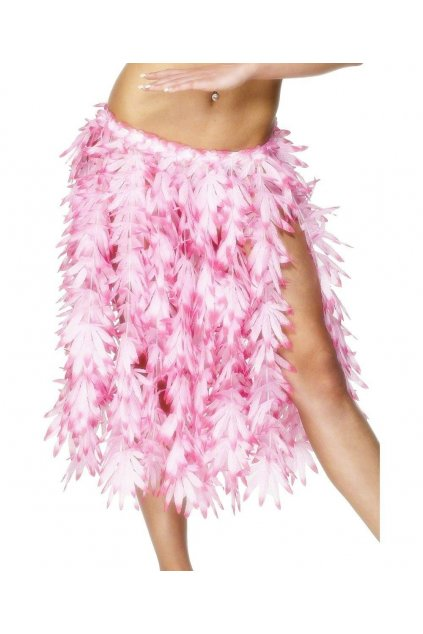 Květinová sukně růžová
